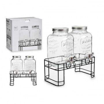 Dayaqlı limonad dispenseri