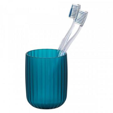 Agropoli mavi diş fırçası üçün qab