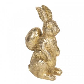 Qızılı dovşan heykəlciyi
