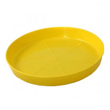 Dibçək altlığı 125 mm sarı