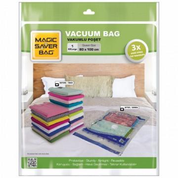 Vakuum torbası XXL 80x100 sm