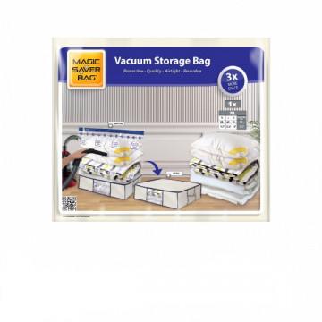 Vakuum torbası XL 50x65x15 sm